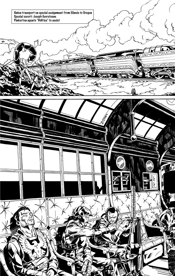A Train...